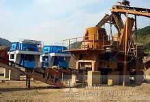 时产150-200吨石灰石制砂生
