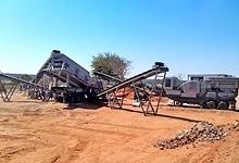 时产700-800吨石灰石破碎生